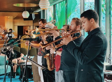 12th Knot Sea Containers London Brassroots