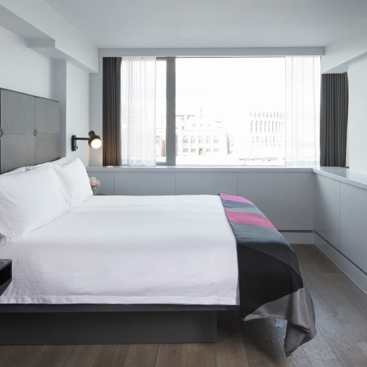 Our Loft Suites are the ideal base to explore London and entertain guests.
