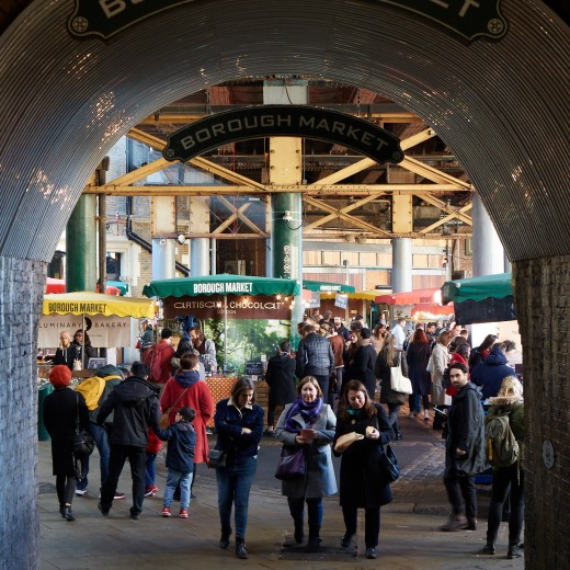 Foodie lovers - meet our neighbours Borough Market