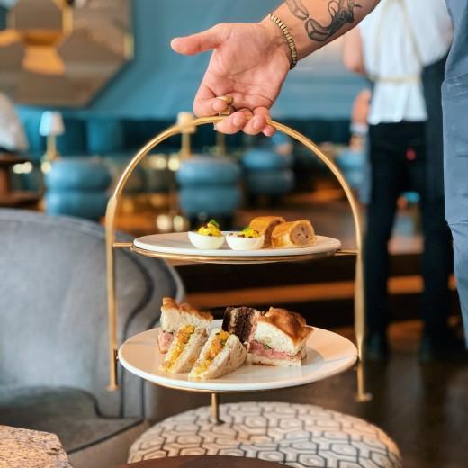 Oh you fancy huh? Enjoy our Fancy Tea in Lyaness