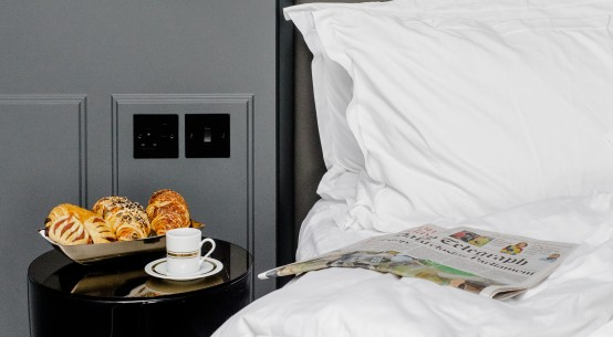 Life's better with room service