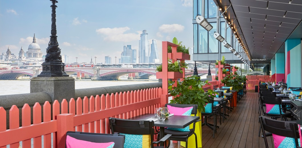 Sea Containers Restaurant Terrace