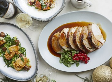 Festive Menu at Sea Containers London - Sea Containers Restaurant