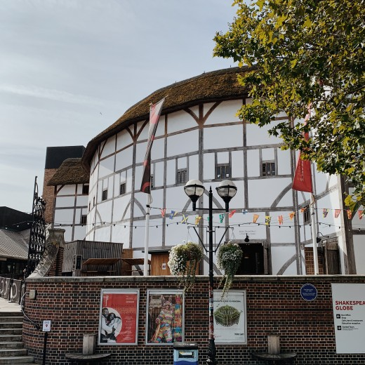 We're a short walk from Shakespeare's Globe, which is well worth a visit